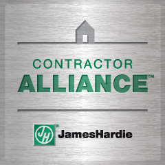 James Hardie contractor alliance member